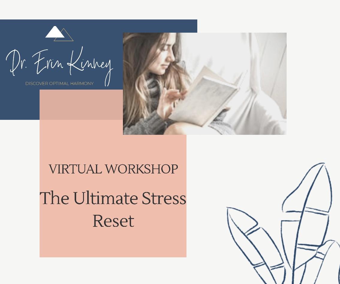 FREE! Stress Reset Webinar