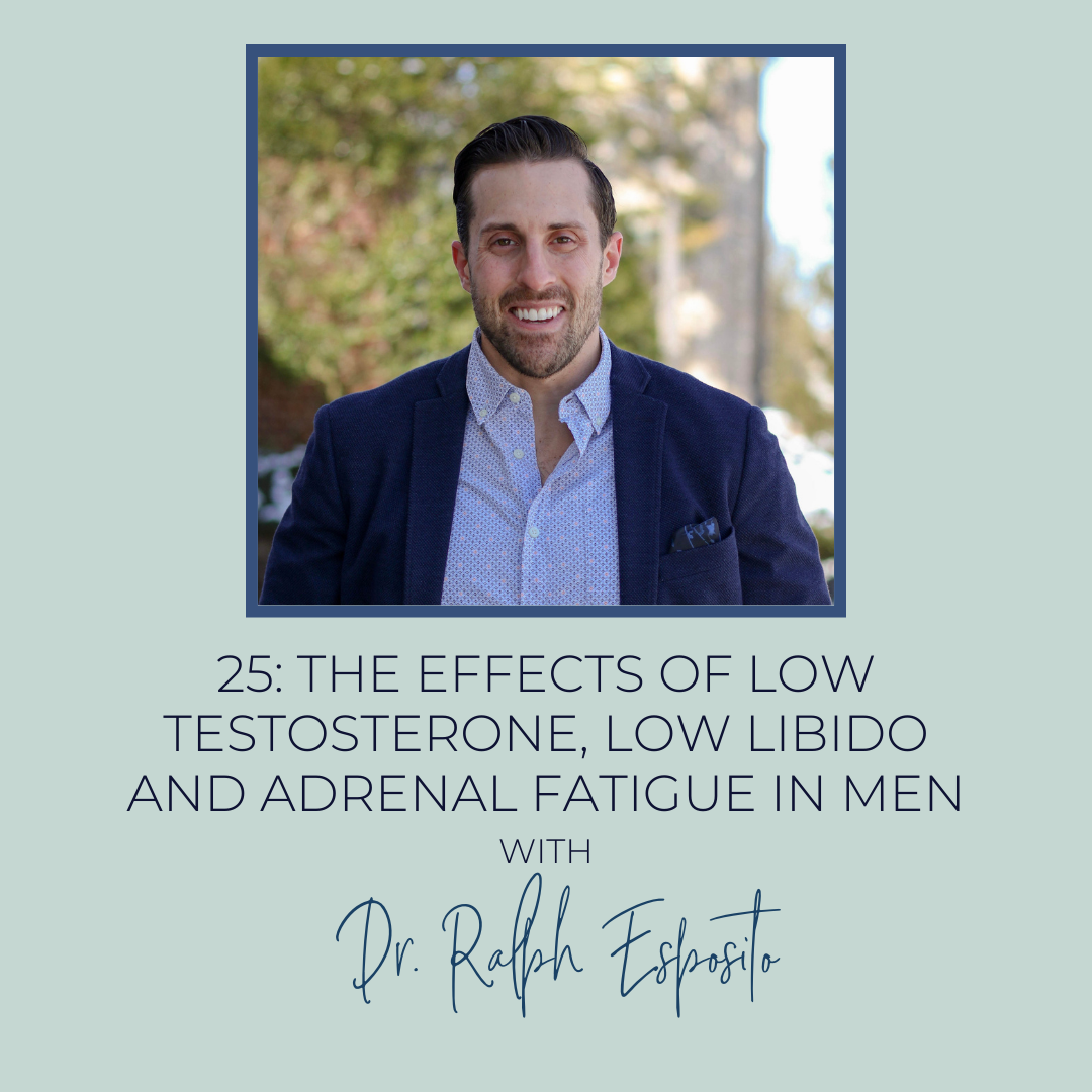 Low Testosterone, Low Libido and Adrenal Fatigue In Men